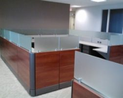 Low Height Refurbished Cubicles