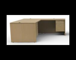 Amber Series L-Shape Desk Set by Cherryman