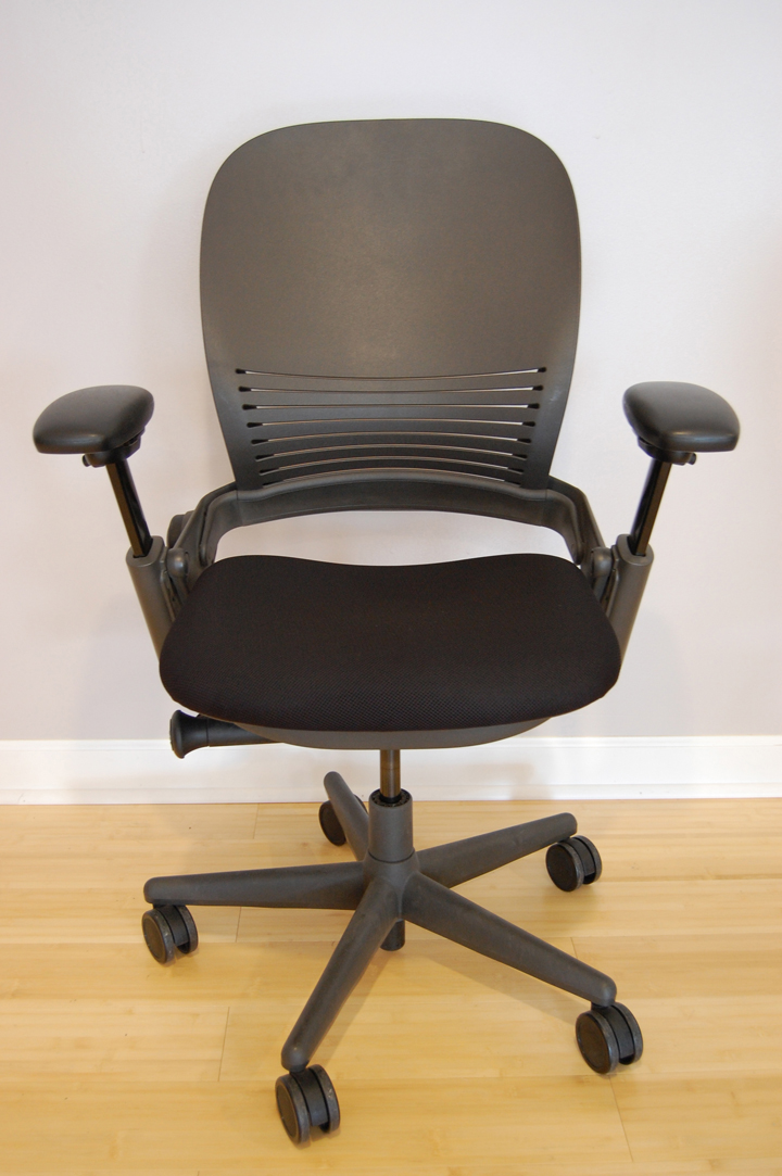 Steelcase Leap Chair with Plastic Back