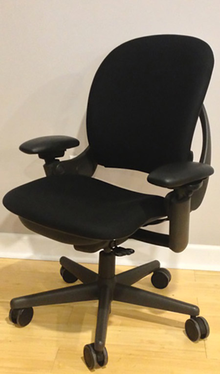 Steelcase Leap Chair (Black Frame)