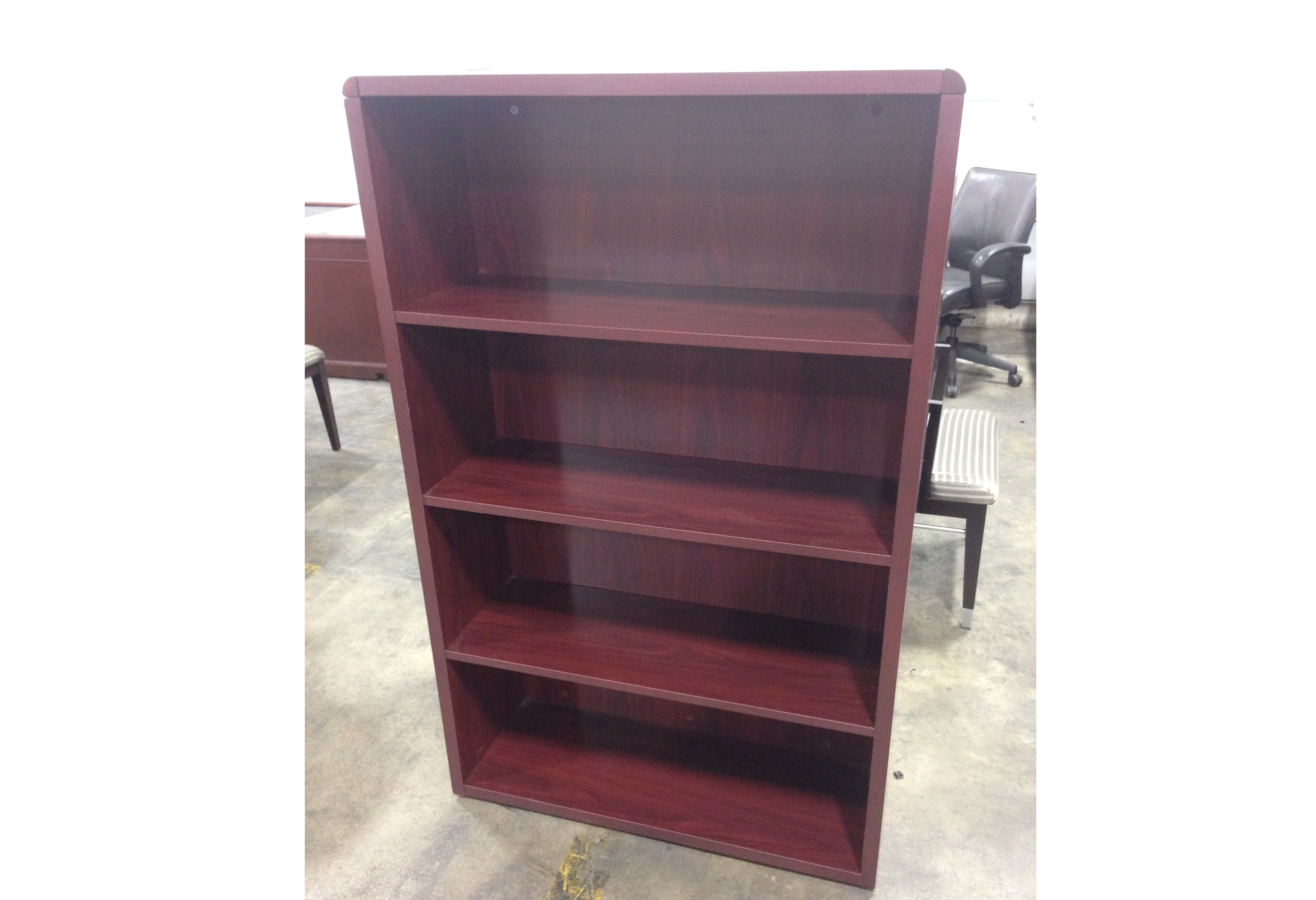 Used Hon Laminate Bookcase Office Furniture Ethosource