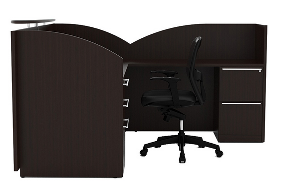 Cherryman Verde Reception Desk Office Furniture Ethosource