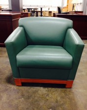 Leather-lounge-chair