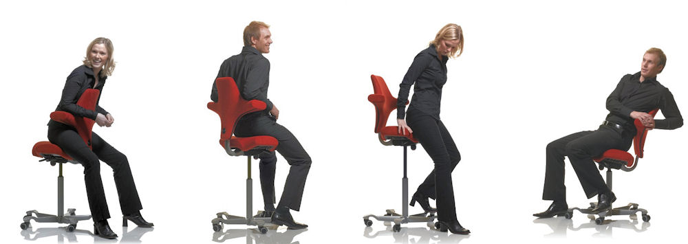 hag capisco saddle chair saddle stool with back. Black Bedroom Furniture Sets. Home Design Ideas