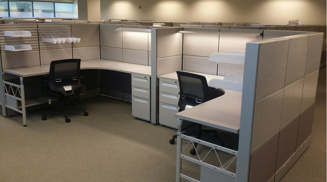 Office cubicles pittsburgh ethosource for 8x8 office design