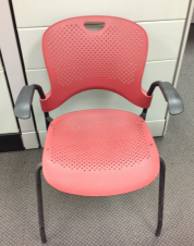 Red Caper Chair