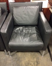 Brayton Leather Lounge Chairs