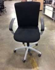 Teknion Chair Grey Frame