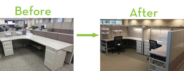 Check It Out Refurbished Office Cubicles