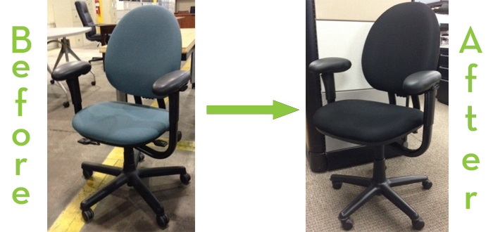Before And After Criterion Another Reason You May Be Interested In Choosing Refurbished Office Furniture
