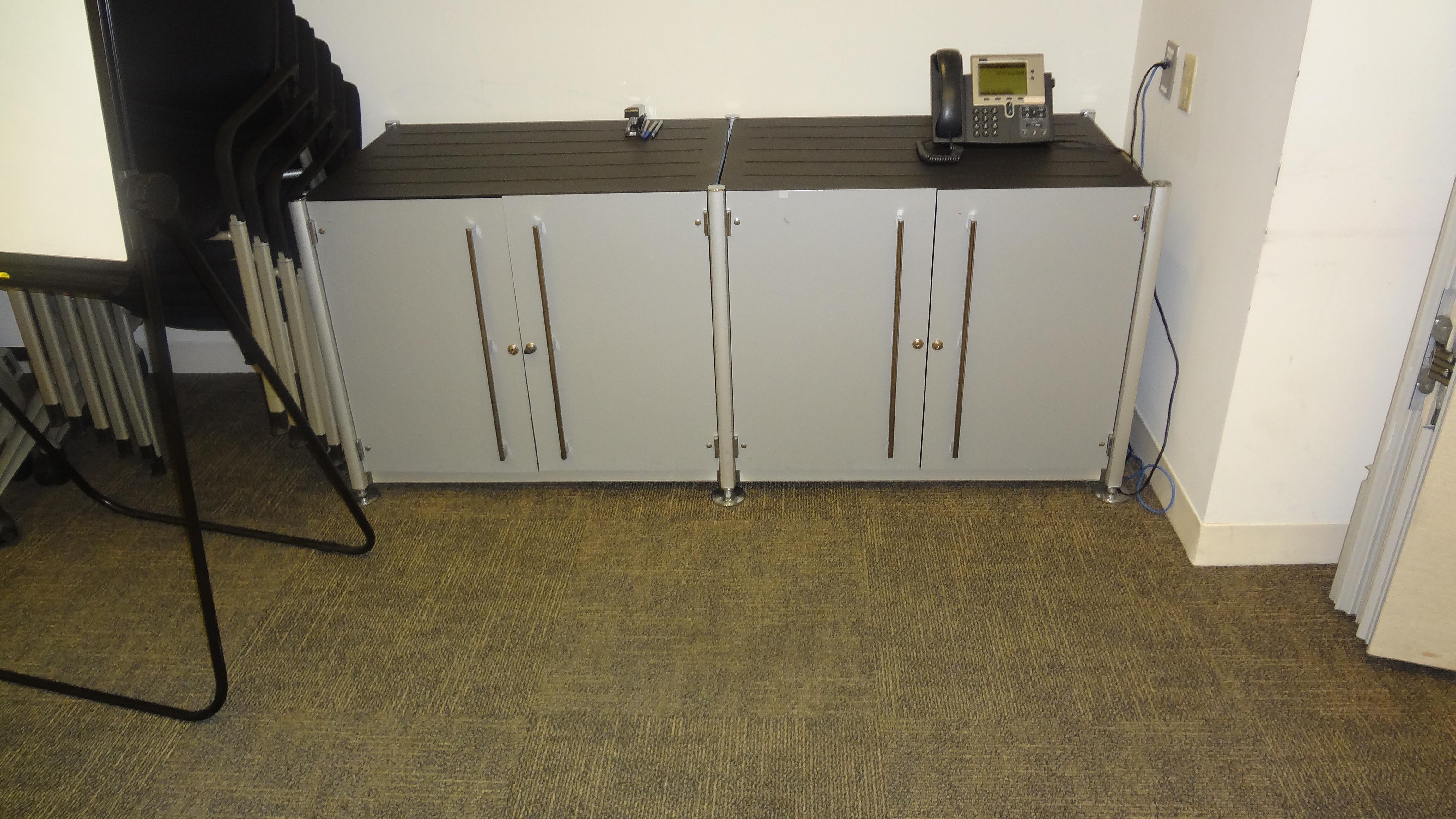 Training Room Metal Credenza