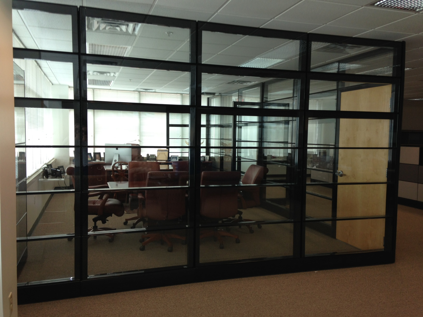 Glazed Office Cubicles : Office cubicles with glass ethosource