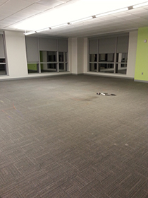 3:43am - Floor Cleared