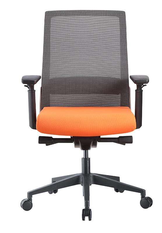 Task Grey mesh Orange Fabric (2)