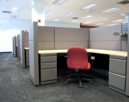Seated Privacy Refurbished Office Cubicle