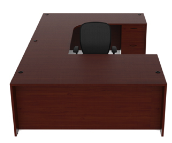 Amber Series U Shape Desk By Cherryman Office Furniture
