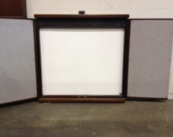 "48"" x 49"" Presentation Board with Screen"
