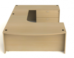Amber Series U-Shape Desk by Cherryman