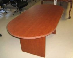 Amber Series Conference Table by Cherryman
