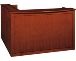Emerald Series Reception Desk by Cherryman