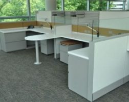 Low Height Refurbished Cubicle