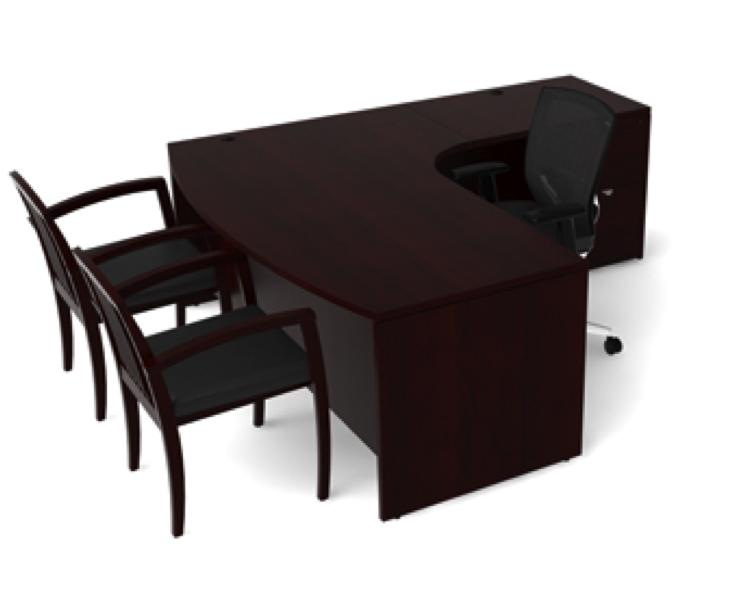 jade l shape desk by cherryman office furniture ethosource. Black Bedroom Furniture Sets. Home Design Ideas