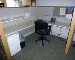 Herman Miller Ethospace with Wood Trim
