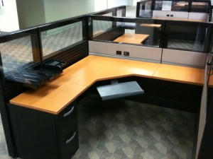 Used Herman Miller Ethospace Cubicle | Office Furniture | EthoSource