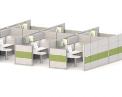 8' x 10' Multi-Height Ethospace Cubicle