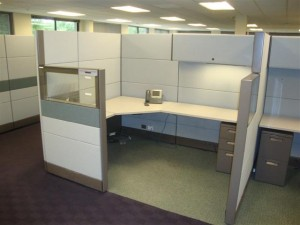 Used Herman Miller Ethospace Cubicles Office Furniture