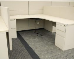 Herman Miller L-Shape Ethospace Cubicle