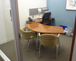 Steelcase L-Shaped Table Desk