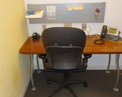 Steelcase L-Shaped Table Desk