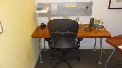 Elegant Steelcase L Shaped Table Desk