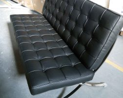 Lancaster Three-Seat Office Sofa