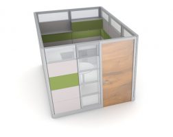 Ethospace Cubicle with Doors