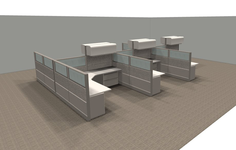 Cubicle With Glass Office Furniture Ethosource