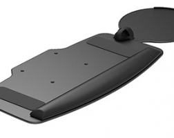 Keyboard Tray - Height-Adjustable Mouse Support