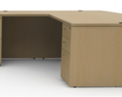 Amber Series L-Shape Desk Set by Cherryman
