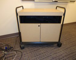 Conference Room Rolling Cart