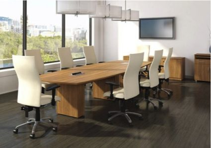Manhattan Style Conference Table