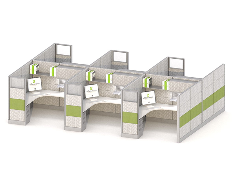 7 X 7 Cubicle Office Furniture Ethosource