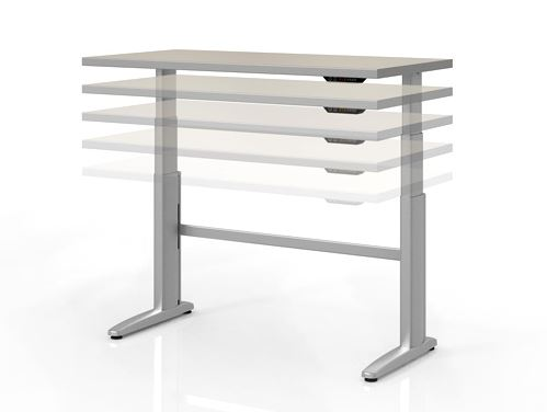 KI Genesis Adjustable Height Desk