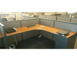 Steelcase Avenir Low Height 6x6 Workstations