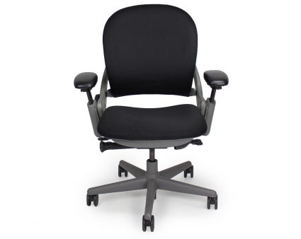 Leap Chair By Steelcase refurbished steelcase leap chair (grey frame) | office furniture