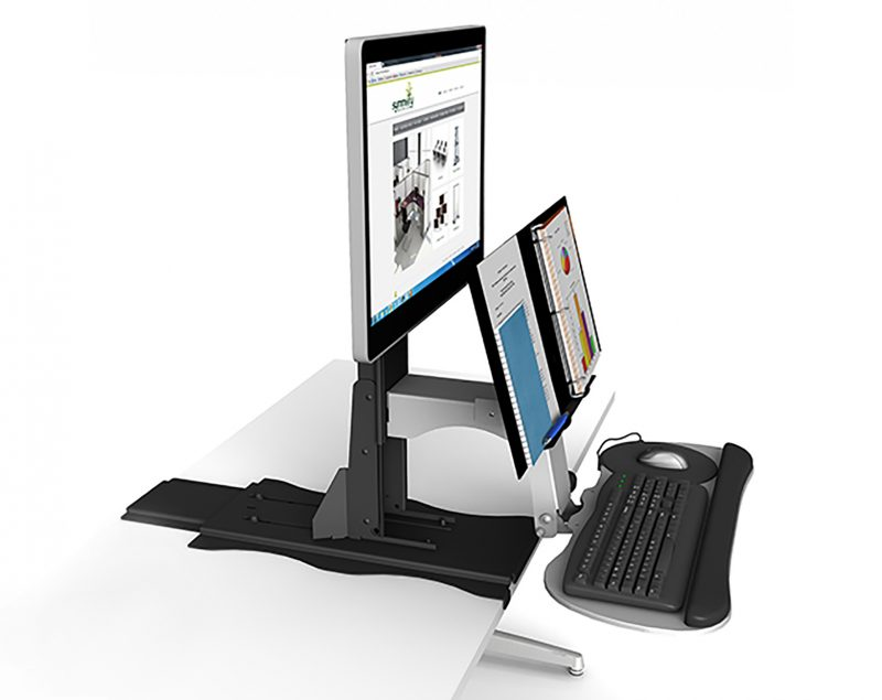 Symmetry Tide Height Adjustable Monitor Base