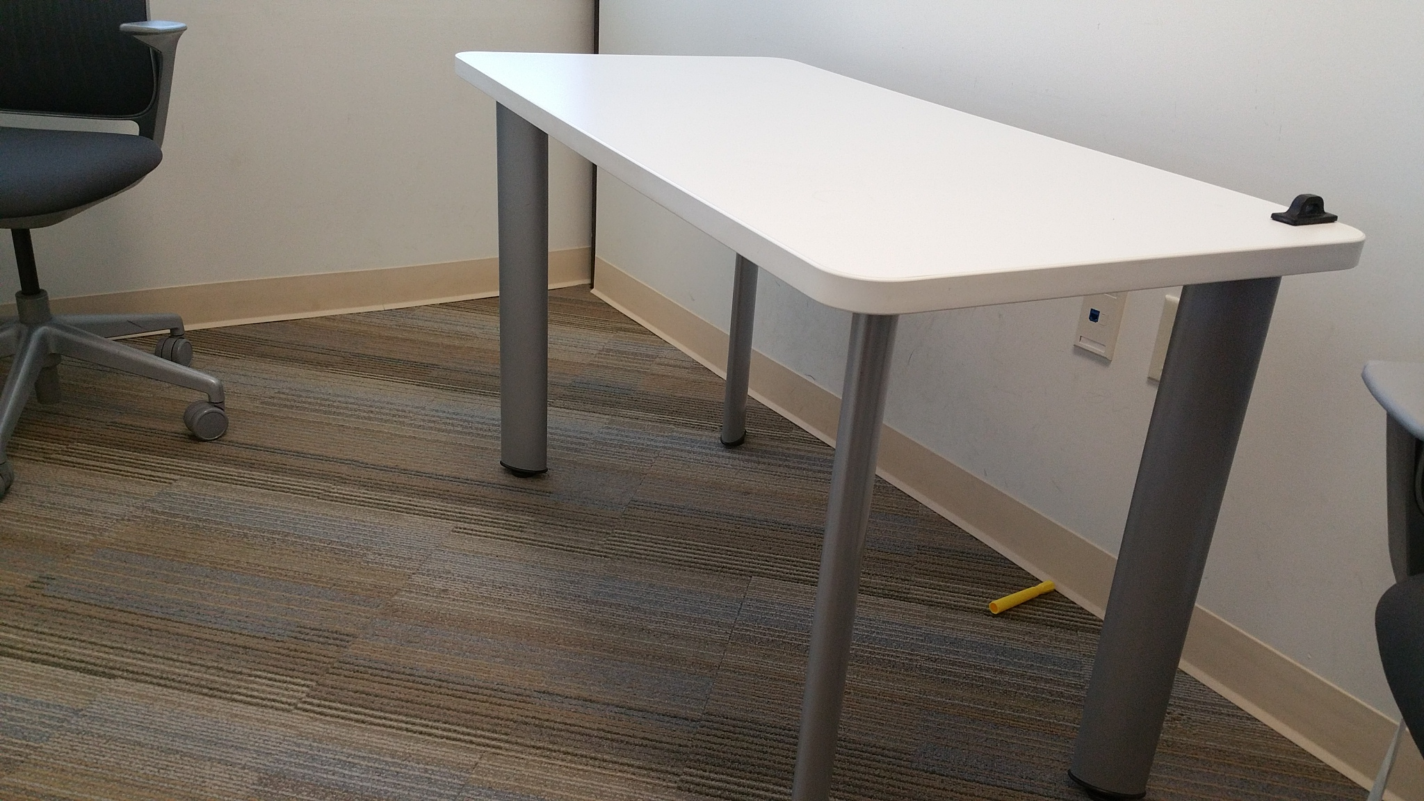 Turnstone White Laminate Table Office Furniture Ethosource