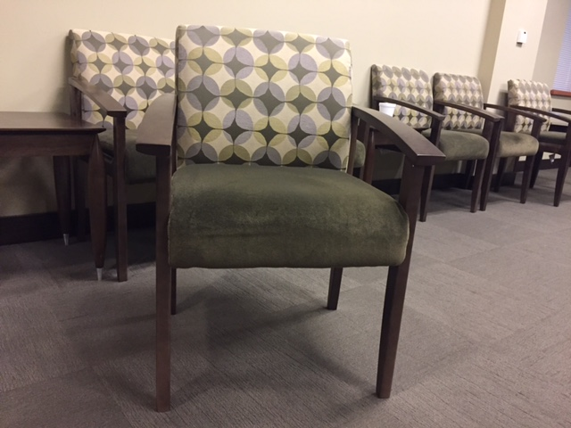 Used Gunlocke Lobby Chairs fice Furniture